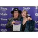 Stoke-on-Trent stroke survivor receives regional recognition