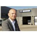 Scanias adm. direktør Janko van der Baan takker af