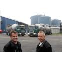 Brændstofbesparelsen på to lastbiler finansierer køb af tredje
