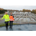 Stor minskning av tungmetaller i avloppsslammet i Örebro