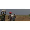 PMU bevittnar hungersnöden i Sydsudan