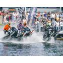 Sparbanken Nord - Framtidsbanken stöttar SM-tävling i Watercross