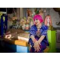 Zandra Rhodes recreates her colorful home at Formex