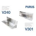 Purus nya tvättränna V240 och urinal V301
