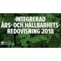 Svenska Retursystem publicerar  integrerad Års- och hållbarhetsredovisning för 2018
