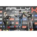 Dubbla segrar för JC Raceteknik i RallyX Nordic på Solvalla