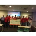 NUS Overseas Colleges' BitCam Team Bags Top Prize at Hitachi Vantara CodeSG