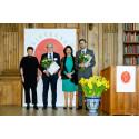 Drottning Silvia delade ut priser till alzheimerforskare