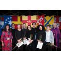 Svenska kyrkans kulturstipendier och Samiska rådets kulturpris delades ut på kyrkomötet