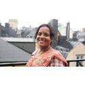 Per Anger-pristagare Rita Mahato på besök i Sverige