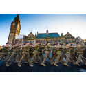 """""""Welcome home"""" - Rochdale salutes Fusiliers in homecoming parade"""