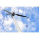 Autonoma drönare besiktar vindkraftverk själva inom tre år
