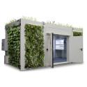 Växtvägg, DENIOS miljöbidrag till industrin