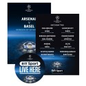 New BT Sport pubs and clubs point of sale for start of UEFA Champions League