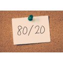Work smarter not harder by adopting the 80/20 principle argues LuCreative