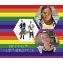 Invigning av Kristianstad Pride 2017 på Kulturkvarteret!