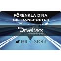 Biltransporttjänsten DriveBack integrerad i Bilvision