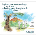 ADAGIO'S NEW 2018 BROCHURE GUARANTEES  PEAK VIEWING THE LEISURELY WAY