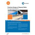 Produktblad_Premium Range of Ropanyl Belts  for the Food Industry