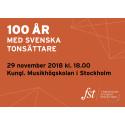 Pressinbjudan: Hundra år med svenska tonsättare 29/11