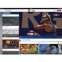 Specialversion av Eurosport Player för iPad till Franska mästerskapen