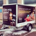 Gratis lånesläp hos Humlans Minilager genom freetrailer!