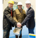Norwegian Cruise Line celebrates the first steel cut for Norwegian Bliss