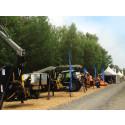 Trejon ställer ut på skogsmässan KWF-Tagung i sydöstra Tyskland