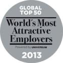 Grant Thornton en av världens 50 mest attraktiva arbetsgivare