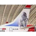 Roald Dahl set to take flight this weekend as Norwegian's first ever British 'tail fin hero'