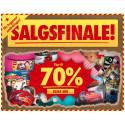 70% i salgsfinalen på Lekmer.no!  Tusentalls leker, barneklær, innredning til barnerommet, barn- og babyprodukter