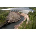 Modernisering av utskovsluckor höjer dammsäkerheten vid Krokströmmens vattenkraftsstation