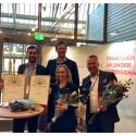 RO-Gruppen vinner priset som årets företagare i Borås 2017