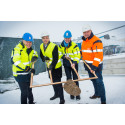 Ground broken for billion kronor investment in new airport maintenance area at Stockholm Arlanda