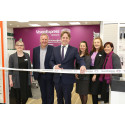 Vision Express officially opens its new optical store at Tesco in Yeovil with help from local MP Marcus Fysh