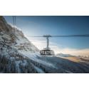 Ny taubane til  fjelltoppen Zugspitze