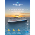 Norwegian Cruise Line lanserer brosjyren Cruisehøydepunkter for sesongen 2016/17
