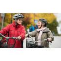 Ökad cykelhjälmsanvändning bland vuxna