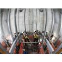 Ongoing Construction Using KONE JumpLift Elevator