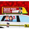 Taxi-resenärer ska söka lyckan i speed dejting