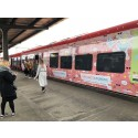 Folierat tåg ska locka storstadsfamiljerna till Skaraborg