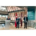Statsminister Lars Løkke Rasmussen besøgte Letland for at lykønske republikken med 100års jubilæet