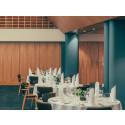Tikkurilan petsi- ja lakkatuotteet tärkeässä roolissa Ravintola Palacen puupintojen uudistuksessa