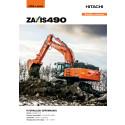 Broschyr Hitachi ZX490-6 bandgrävare