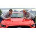 Nordmenn satte verdensrekord med Ford Mustang