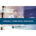 Webinar: Prestation & Kompetens med Talentsoft