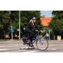 Var tredje skadad trafikant som hamnar på sjukhus är en cyklist