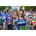 Runner raising money for Diabetes UK taking part in the Simplyhealth Great Run Series