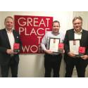 Bavaria Norge (BMW og MINI), Hedin Performance Cars Norge (Porsche) og GS Bildeler sertifiserte Great Place to Work-bedrifter