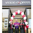 New Vision Express Ayr store opened by Kilwinning stroke survivor